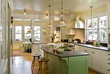 kitchens and bathrooms / by Peggy Oliver Giacalone
