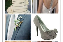 Grey/Silver/Steel/ Weddings / Grey color pallet ideas and decor for weddings.