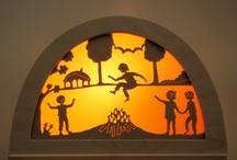 Vitráže a okenní dekorace