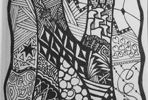 My Zentangles / Made by me