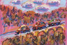 Paintings by John Lloyd