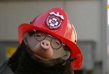 """Thema """"ik ben een brandweerman/vrouw"""""""