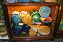 Fiesta and American Art Pottery at Emporium Antiques / Emporium Antiques in historic downtown Frederick, MD is blessed with some of the finest dealers in American Art Pottery on the east coast!