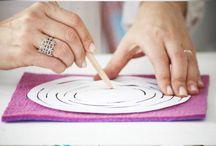 Filzideen zum Nachmachen / Hier sind einige tolle Ideen, die wir gerne nachmachen würden! www.thefeltstore.com