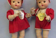 Tweeling poppen