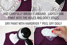 kumaş boyama