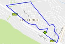 Run/Walk Routes Fish Hoek