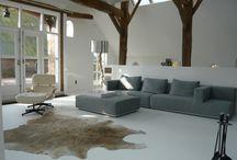 Inspiratie - Woning / Inspiratie voor de kleuren voor een nieuwe woning en bijhorende vloer