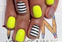 Nail Designs / Designs I want to try out on me. / by Lauren Ponto