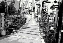 Manga / Random manga (japanese comics) arts. B&W only.