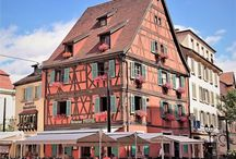 Travelling Alsace, France.