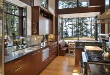 Kitchens / There really is something tremendous about a beautiful kitchen.