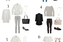A. STREETSTYLE / Minimalistic, natural and neutral colours, french vibes and classic, timeless clothes