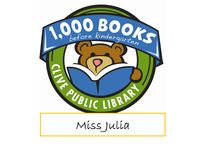 Miss Julia 1,000 Books before Kindergarten