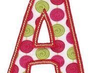"A B C""S ~~ 1 2 3  / by Genea Maines"