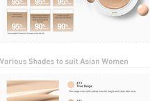korean skincare/makeup