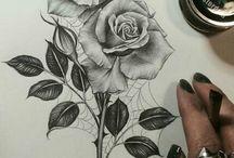Tatuaggi di rose