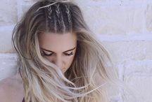 Gevlochten Haar