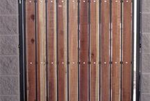 Metal and wooden gate examples