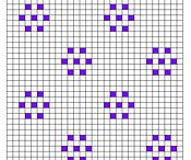 Bobble stitch pattern
