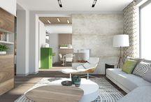 Интерьер загородного дома (Country house interior design) / Contemporary interior design of country house by Genesis Interiors.