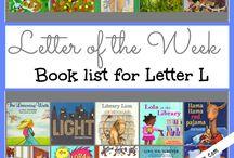 Alphabet Letter L / Activities for alphabet letter L for preschool