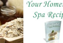 """Homemade Spa """"BLOG"""" By Emily Madison / Discover how to create your own pampering bath and body products and transform your home into your own luxurious spa oasis! Read more @ http://www.rejuvenating.me/"""