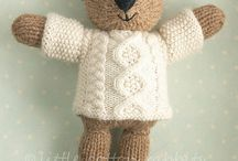 Knitting patterns - Softies
