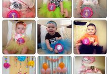 Baby monthly pictures / by Damy Suazo