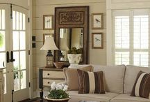 Design & Decor - Family Rm, Entry, Hall / Ideas to consider in the remodel of our entry area and family room, plus hall leading off that room / by Sharon Stinson