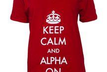 Alpha Phi apparel