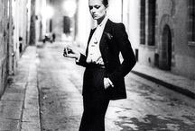 tuxedo woman