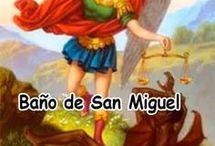 baño espiritual de.San Miguel