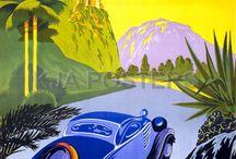 Vintage ταξιδιωτικές αφίσες -GRECE