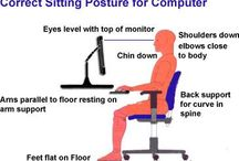 Computer safety tips / Computers and laptop are the necessary gadgets to use at offices and homes, but be sure to use it safe and secure these computer using safety positions will make you healthy.