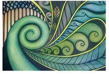 Maori drawings
