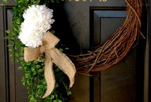 inspiring wreaths / by Yovette Brooks