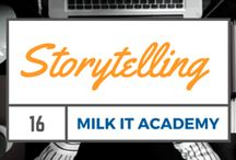 Storytelling / Learn To Use Storytelling In Your Marketing. How To Engage An Audience Through Storytelling.