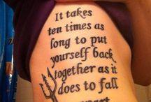 Tatoeages die ik leuk vind