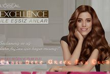 #CansuDere #LOréal Paris'ten Yeni #Excellence May 2013 /  #LOréal Paris #Excellence #CansuDere