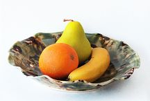 Fruit Bowls / A traditional French bowl, the fruit bowl is designed for the 'setting out' of fruit.  The row of holes at the base provides ventilation to help maintain freshness.  Dishwasher Safe