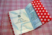 "notebook covers / עטיפות למחברות או לדרכון, ""מחברת מטופלת""  וכדו'."
