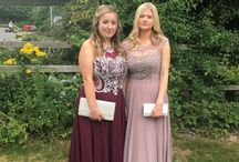 Our Prom Girls in Prom Frocks!
