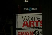 SWAN Day 2016 / Our two SWAN Day events this year, a screening of BaddDDD Sonia Sanchez at SVA Theatre with talkback after with co-filmmaker and editor Sabrina Schmidt Gordon; and a performance of Collaboration Award Honored Finalist 2013 SILENT WITNESSES written and performed by Stephanie Satie directed by Anita Khanzadian with talkback after: Life After the Collaboration Award with Stephanie, TD Mitchell, and Fengar Gael