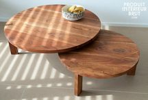 Impressive wood decoration / Furniture, decoration, home, living, interior
