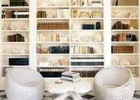 Interior design inspiration. books