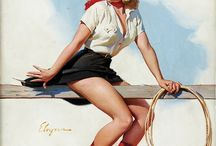 Pin ups / 50s fashion / by Nancy Martin