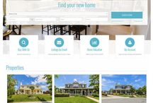 Responsive Wordpress Real Estate Website Theme Catalog