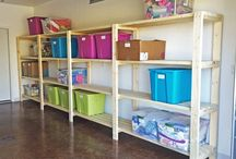 Garage Organization / by Kelli Nicholls