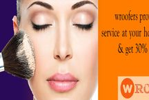 salon home service in gwalior / Book online salon for female at home and get 20% straight off on #Hair styling, #Spa, #Facial and more.